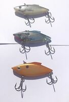 Lot of 3 Rat-L-Trap - Bill Lewis 1/2 Oz Lipless Crankbait Fishing Lures - lot5A