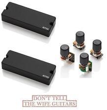 EMG 40DC Active 5 String Bass Soapbar Pickup Set & BTS Tone Control System