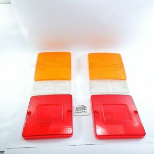 MITSUBISHI FUSO CANTER FE110 FE111 FE211 TAIL LIGHT LAMP LENS SET Aftermarket