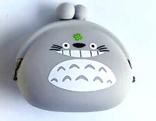 Miyazaki Totoro Face Squidgy Silicone Grey Coloured Coin Jelly Purse Anime Fun