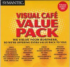 Symantec Visual Cafe Value Pack for Professional Developer's Edition