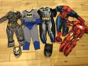 Age 3-4 Years Superhero Fancy Dress Bundle Marvel Spiderman Batman Official