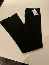 BNWT Next Womens Black High Rise Flare Jeans Size 10R