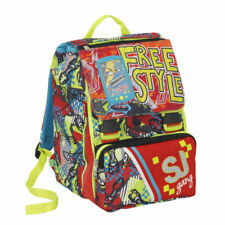 Seven SJ Gang Boy Zaino da Scuola - Rosso/Blu (8011410292666)