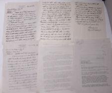 1926 Lamson Goodnow Eugene Belknap Worcester MA Signed Chemistry Ephemera L513B