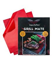 VarchPro Grill Mate Premium Teflon-Coated Grill Mats