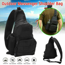 Men Small Chest Bag Pack Travel Sport Shoulder Sling Backpack Cross Body·