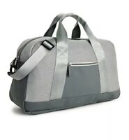 DSW Duffle Bag Gray NWT Weekender Gym Travel  Carry On Hand Luggage