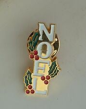 Christmas Noel Lapel Hat Souvenir Pin