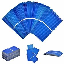 100Pcs Solar Panel Cells DIY Polycrystalline Photovoltaic Battery Charger Kit