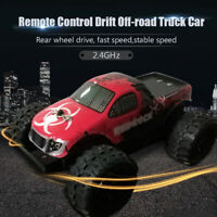 Remote Control Off-road Car 2.4GHz 1/24 High Speed Drift Truck Kids Toy nw