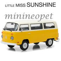 GREENLIGHT 84081 LITTLE MISS SUNSHINE 1978 VW VOLKSWAGEN TYPE 2 BUS 1/24 YELLOW