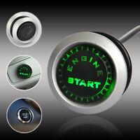 Green LED 12V Universal Car Engine Start Push Button Switch Ignition Starter Kit