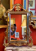 Early 20th Century Italian Giltwood Mirror