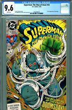 Superman: Man of Steel #18 CGC GRADED 9.6 - third highest - 1st FULL doomsday