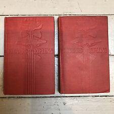 Vintage Kipling Lot 2 Manhattan Press Short Stories Phantom Rickshaw Wee Willie