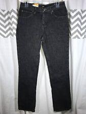 Boys 18R Lee Slim Fit Straight Leg Steel Gray Black Adjustable Waist Jeans 30x32