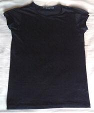 Tee-shirt noir Marithé & François GIRBAUD. Taille 38 (M)