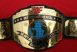 WWF INTERCONTINENTAL HEAVYWEIGHT CHAMPIONSHIP BELT WRESTLING WWE BELT REPLICA
