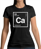 Element Name CATHY - Womens T-Shirt - Science - Surname - Personalised - Gift