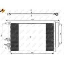 1 Condenseur, climatisation NRF 35499 EASY FIT convient à ALFA ROMEO