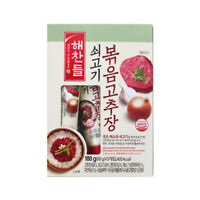 Korean Red Pepper Paste HAECHANDLE Gochujang Stir-fried with Beef 60g x 3pack