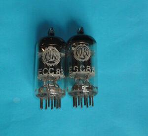 2 Röhren / tubes ECC83, made by Mullard, labelled VAlvo,      12AX7, ECC 83