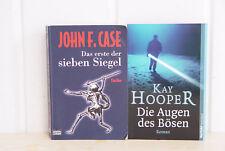 Die Augen des Bösen; Hooper / Das erste der sieben Siegel; Case, 2 Krimis