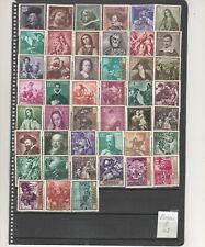 ESPAÑA-Pintores (2) Conjunto de 60  sellos nuevos distintos (según foto)
