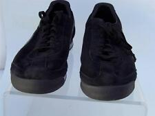PUMA ROMA BLACK GRAY SUEDE MENS US 14 GUC SNEAKERS FOOTBALL SOCCER CLASSIC MGK