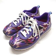 Skechers 8.5 Purple 77217 HC Health Care Slip Stain Resistant Nurse Work Shoes