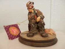 1994 Emmett Kelly Sculpture by Flambro, Made in China