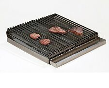 """Uniworld 24"""" x 24"""" 4 Burner Lift-off Griddle Top with Grease Tray, Made from 7 G"""