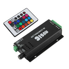 24 Key Music IR Remote Controller Sound Sensitive for RGB LED Strip Light QT