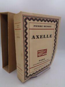 Pierre Benoit : Axelle  illustré par Emilien Dufour  1929