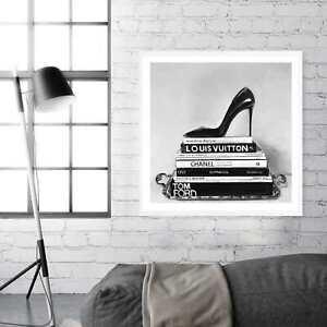 NEW Runway Reads Square Unframed Premium Wall Art Print   Fashion Home Decor