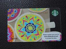 STARBUCKS MANDALA INDIA CARD INDIA EXCLUSIVE 2013