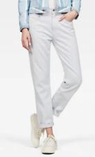 BNWT G-Star Raw 3301 Laundry Blue Denim Mid Boyfriend Jeans W 34 L 32 RRP £80