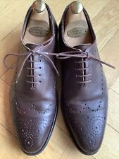 PRIME SHOES 42 / 8 Budapester Schuhe Braun Ledersohle rahmengenäht goodyear