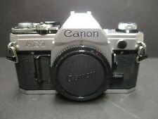 Canon AE-1 camera body only MINT MINUS 35mm no squeal