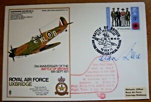 1971 RAF SC30c AIR COMMODORE ALAN DEERE SIGNED BATTLE OF BRITAIN FLOWN COVER