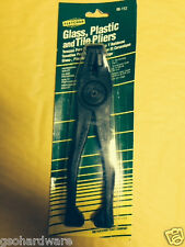 "Fletcher Glass Running and Nipping Pliers 8"" #06-112 NEW"
