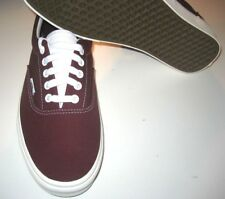 Vans Era Mens Retro Sport Port Royale Red Canvas Skate Boat shoes size 7.5 NWT