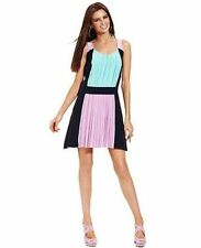 Betsey Johnson Colorblock Cocktail Party Spring Wedding Dress 10