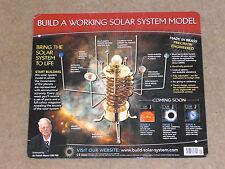 "BUILD A MODEL SOLAR SYSTEM, MOTORISED ""ORRERY"" KIT, ALL ISSUES 1-52 BY EAGLEMOSS"