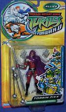"""Teenage Mutant Ninja Turtles 5"""" Fast Forward Torbin Zixx New Factory Sealed 2006"""