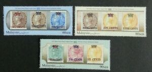 *FREE SHIP Malaysia 150 Years Straits Settlements Stamps 2017 India (stamp) MNH