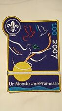 Scouts Centenary Large Badge in French (World Scout Jamboree, Moot)
