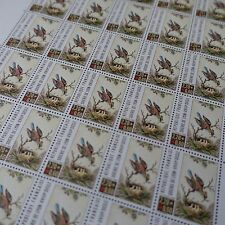 FEUILLE SHEET TIMBRE CROIX ROUGE RED CROSS N°2612 x25 1989 NEUF ** LUXE MNH