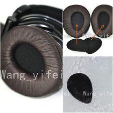 Brown Ear Pads Cups Cushion For Sony MDR V600 V900 HD Headphones Add Foam Disks